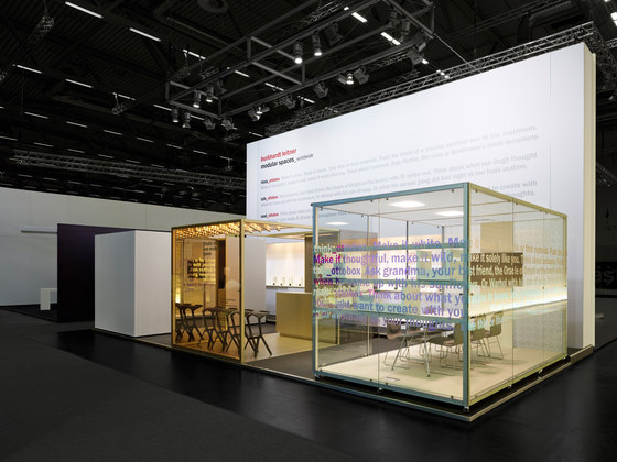 constructiv OTTO Loungebox di Burkhardt Leitner | Pareti divisorie