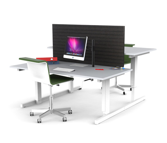 Grid by BULO | Desking systems