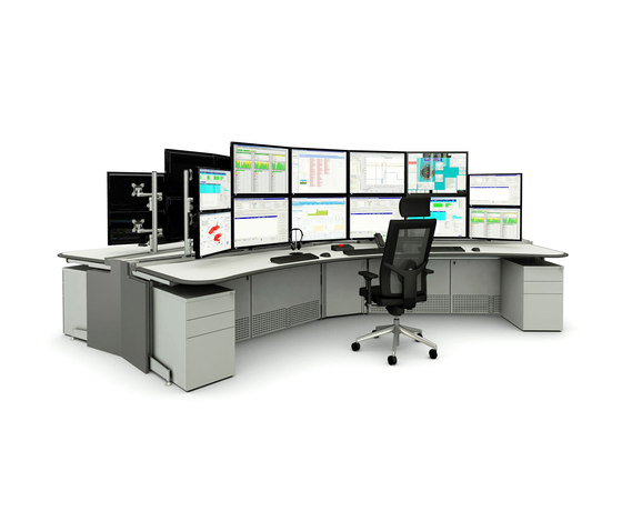 Axess | Control room de SBFI Limited | Mesas