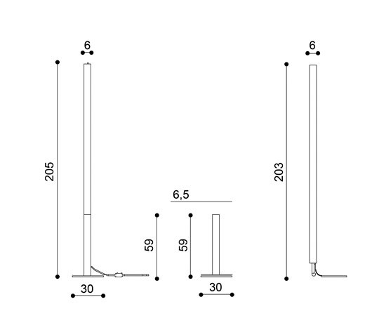 Spar Floor lamp by La Référence | General lighting