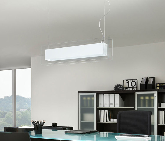 Square Pendant lamp by La Référence | General lighting