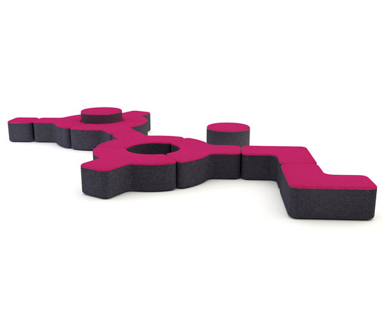 Signs by Loook Industries | Modular seating systems