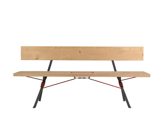 Kampenwand Bench by Moormann | Garden benches