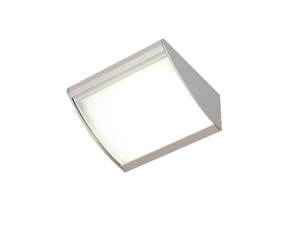 DK 3-LED - LED Under-Cabinet Luminaire with Curved Glass Shade by Hera | Spotlights