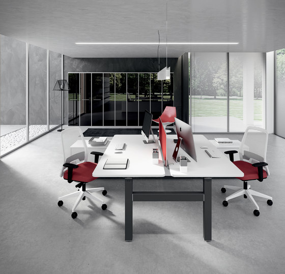 DV803-Nobu 3 by DVO | Individual desks