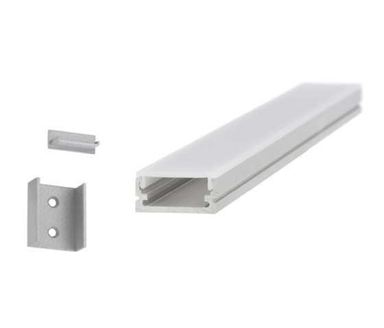 Aluminium Profiles 20.0 x 8.5 mm by UNEX | LED wall-mounted lights
