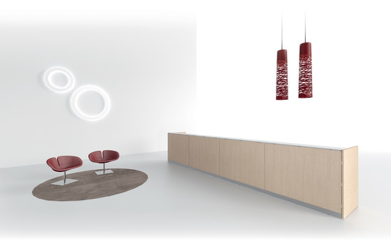 DV703-Qubo 01 by DVO | Reception desks