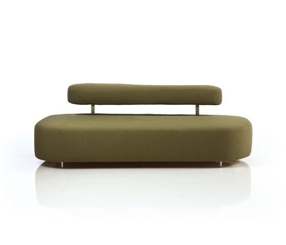 mosspink Sofa flow by Brühl | Lounge sofas