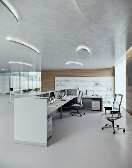 DV703-Qubo 04 by DVO | Reception desks