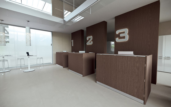 DV703-Qubo 06 by DVO | Reception desks
