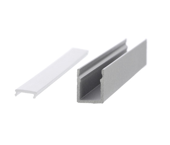 Aluminium Profiles 9.6 x 12.0 mm by UNEX | LED wall-mounted lights