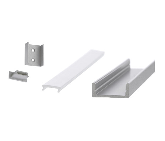 Aluminium Profiles 17.5 x 7.0 mm by UNEX | LED wall-mounted lights