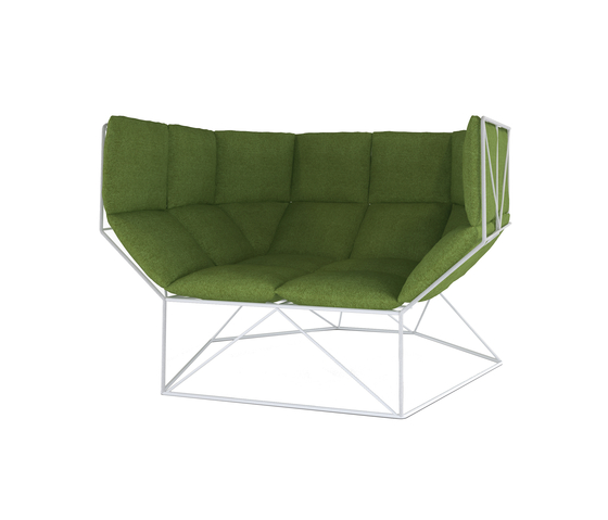 foxhole by spHaus | Garden armchairs