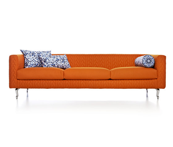 boutique delft blue jumper triple seater by moooi | Sofas