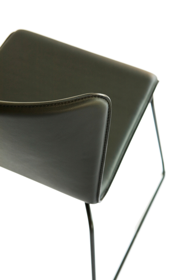 lisbon wire by spHaus | Visitors chairs / Side chairs