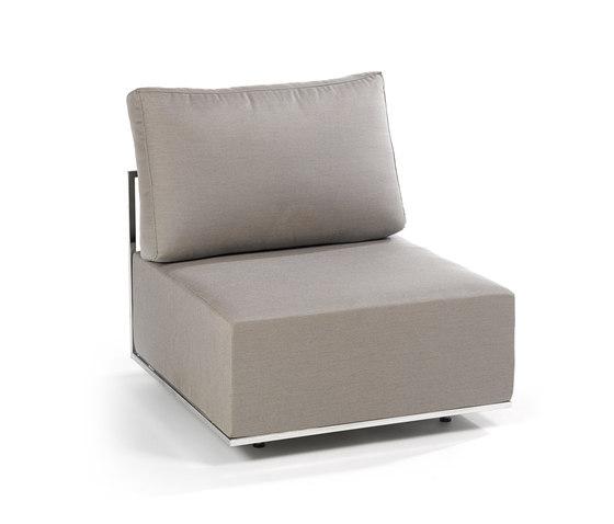 Suite Mittel-Modul von Fischer Möbel | Sessel