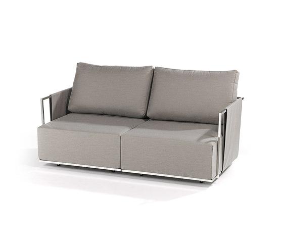 Suite 2-seater by Fischer Möbel | Garden sofas