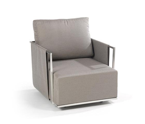 Suite Lounge-Sessel von Fischer Möbel | Gartensessel
