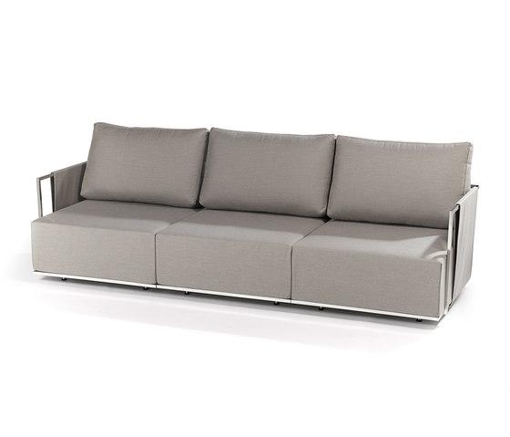 Suite 3-seater by Fischer Möbel | Garden sofas