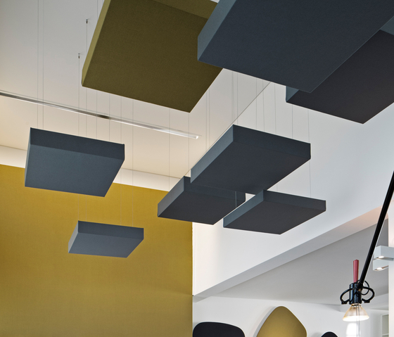 CAS Cube by Carpet Concept | Acoustic ceiling systems