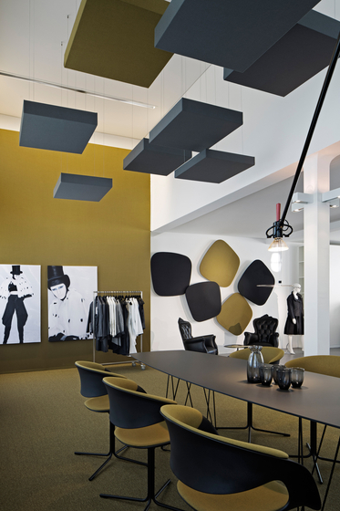 CAS Cube by Carpet Concept | Ceiling systems
