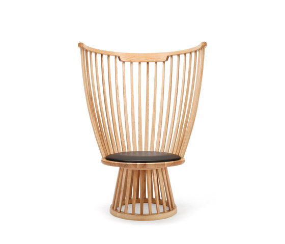 Fan Chair Natural di Tom Dixon | Poltrone