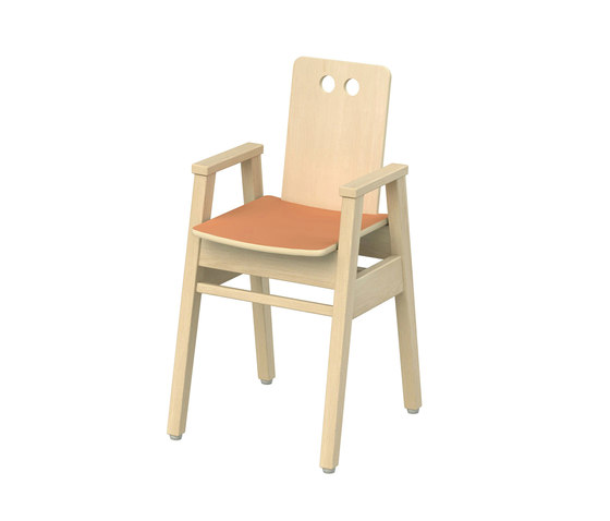 Chair for children low Otto OT302 by Woodi | Kids chairs