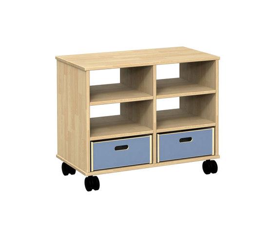 Onni modular cabinet ON32AA de Woodi | Armoires/étagères pour enfants