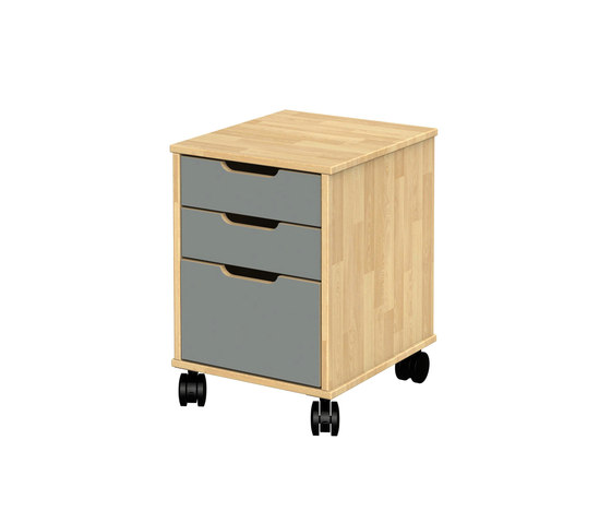 Otto modular cabinet OT41LB by Woodi | Kids storage