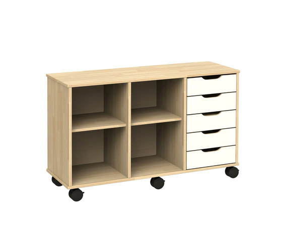 Otto modular cabinet OT53AAL by Woodi | Kids storage