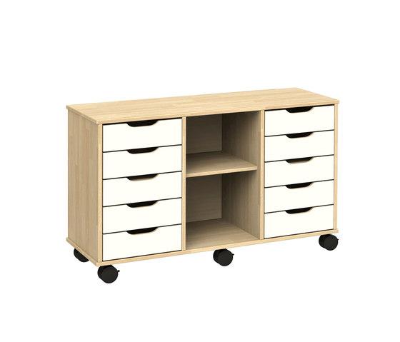 Otto modular cabinet OT53LAL de Woodi | Armoires/étagères pour enfants