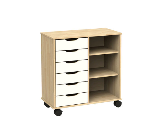 Otto modular cabinet OT62LA by Woodi | Kids storage