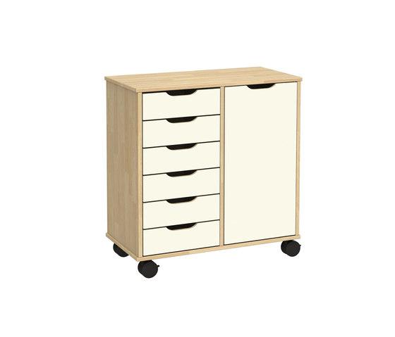 Otto modular cabinet OT62LO by Woodi | Kids storage furniture