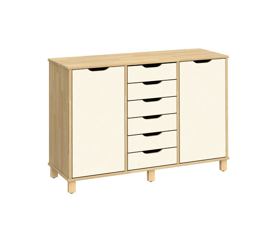 Otto modular cabinet OT63OLO von Woodi | Kids storage furniture