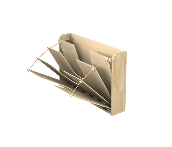 Cardboard stand V145 by Woodi | Nursery furniture