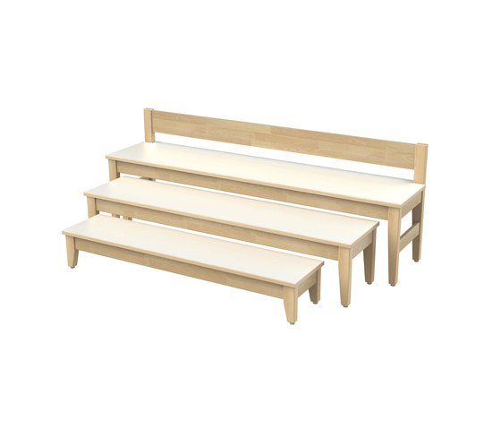 Bench for children SI701A von Woodi | Kinderbänke
