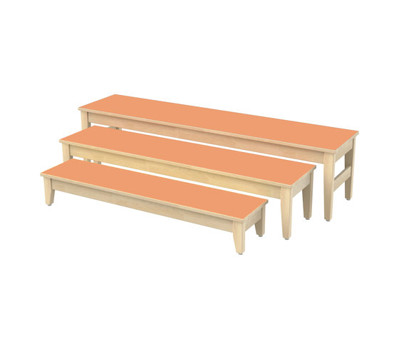 Bench for children SI701B by Woodi | Kids benches