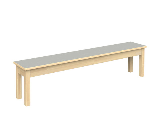 Bench for children W700 by Woodi | Kids benches