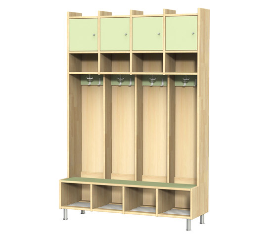 Wardrobe for children N1000-4 by Woodi | Cloakrooms
