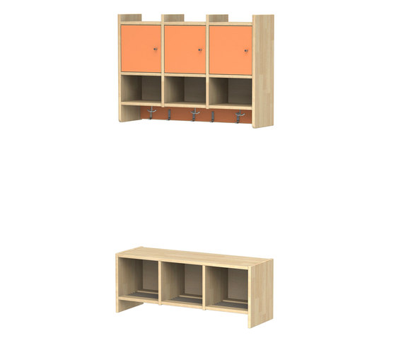 Wardrobe for children L910-3 | L911-3 di Woodi | Guardaroba