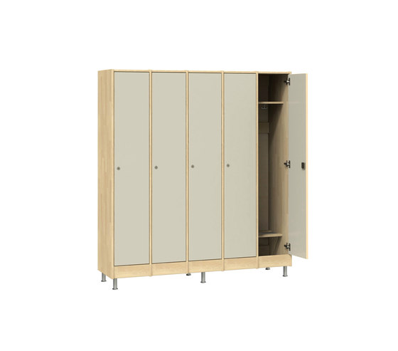 Wardrobe for adults W206 von Woodi | Garderoben