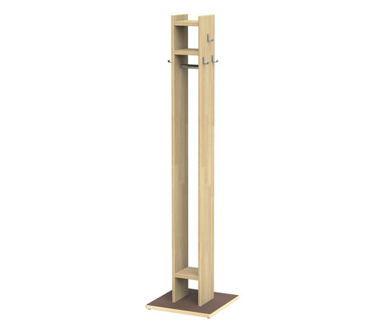 Coat rack W133 by Woodi | Cloakrooms