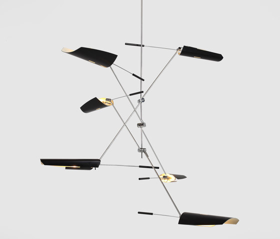 Bramah Chandelier No 440 by David Weeks Studio | General lighting