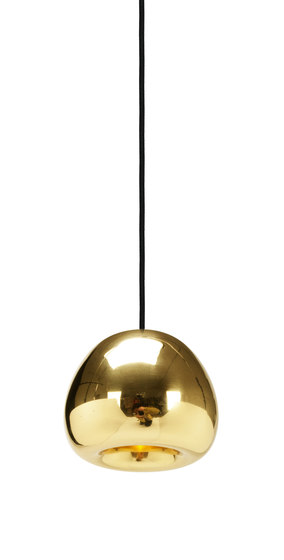 Void Mini Pendant Brass by Tom Dixon | Suspended lights