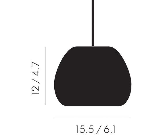 Void Mini Pendant Steel by Tom Dixon | General lighting