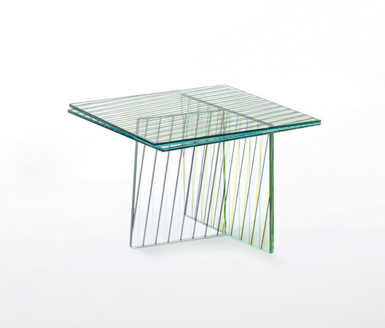 Crossing by Glas Italia | Side tables