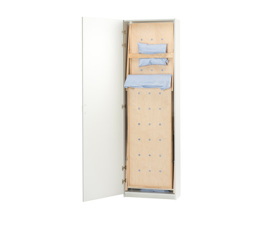 Foldable and storable bunk bed VK500UT by Woodi | Children's beds