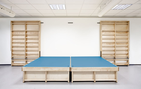 Gymnastic wall/stage P300 by Woodi | Play furniture