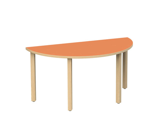 Table for children 612P-L60S by Woodi | Kids tables