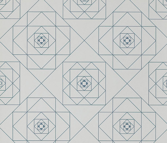 Frame Geometric Floor Tile by Refin | Floor tiles